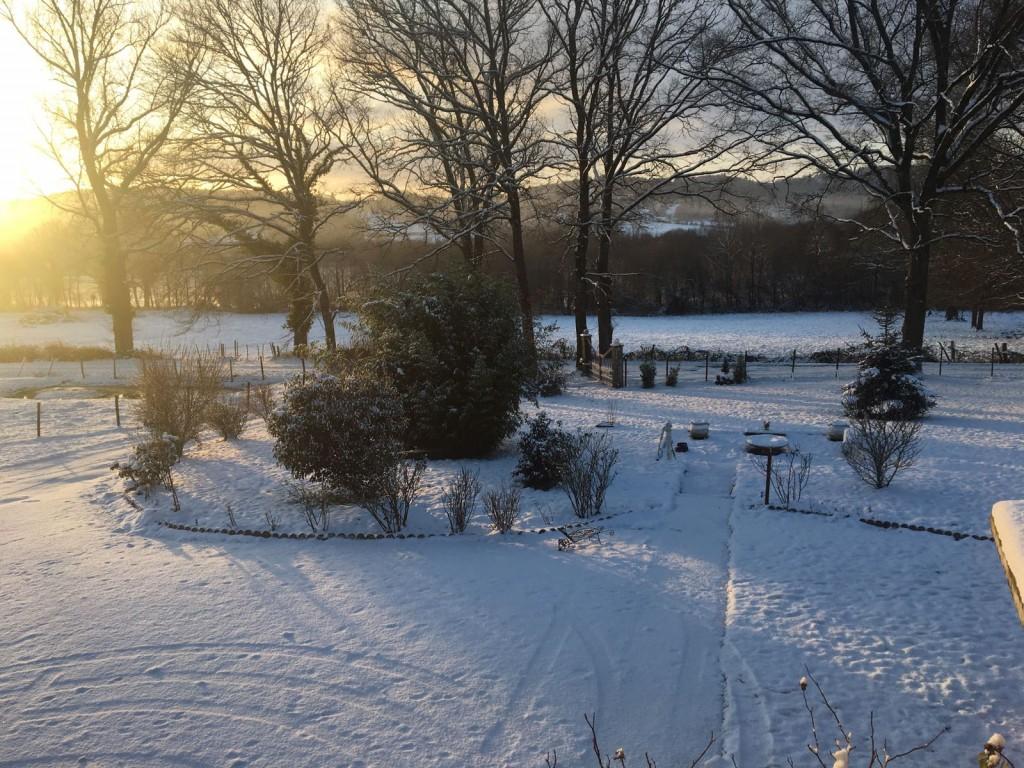 Cherpont neige par Rémy Saez