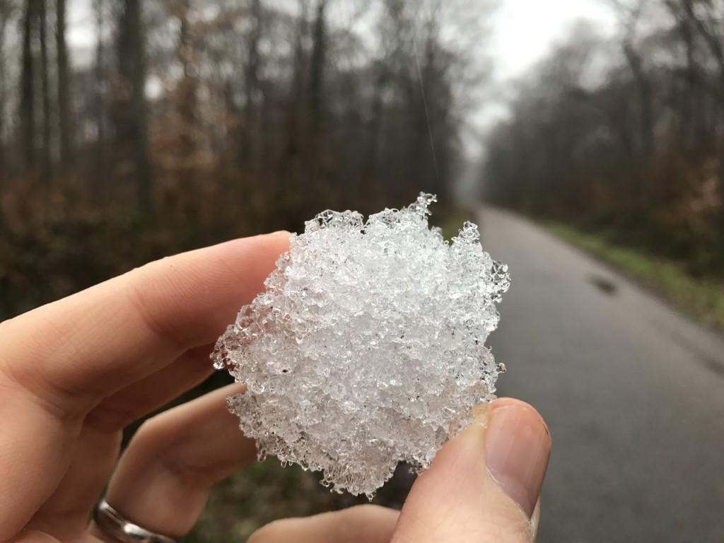 Dernière neige de la région?