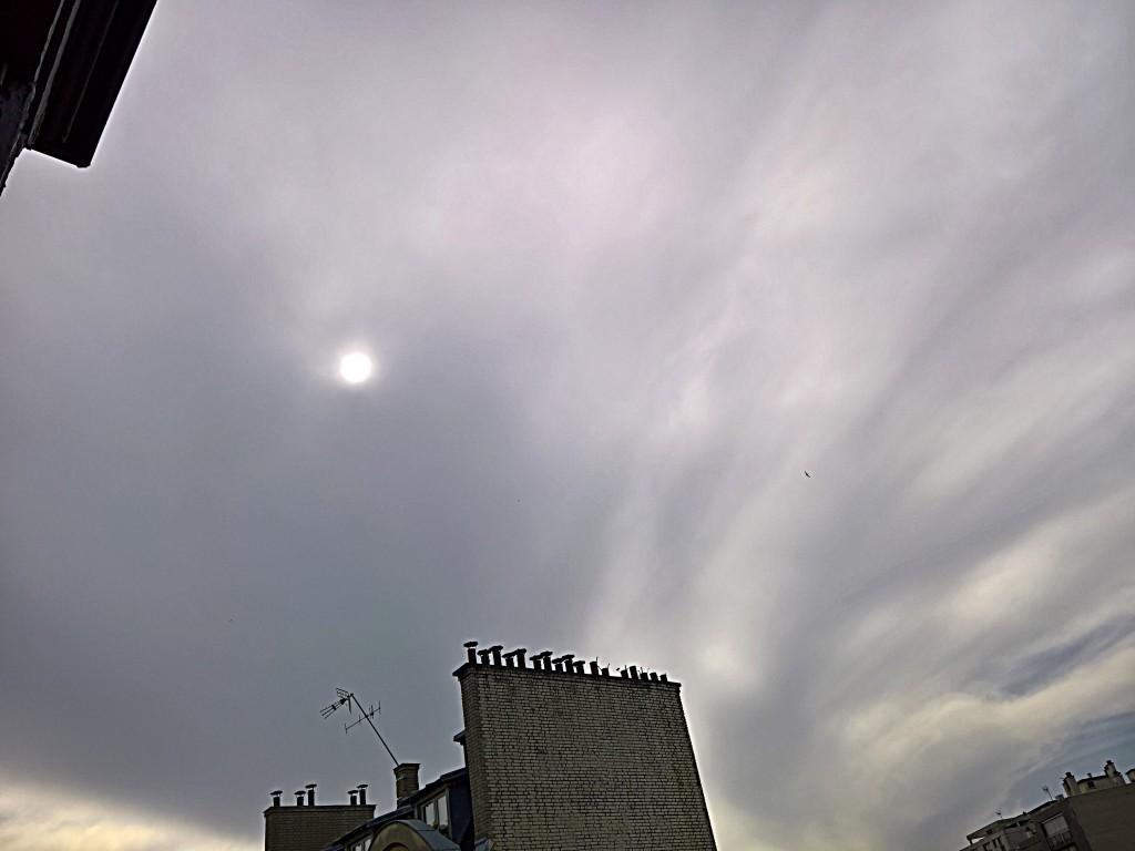 Dimanche matin orageux