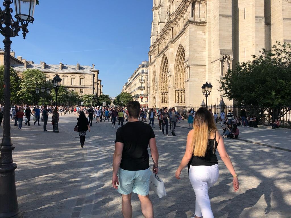 Encore une journée très agréable bondée de touristes