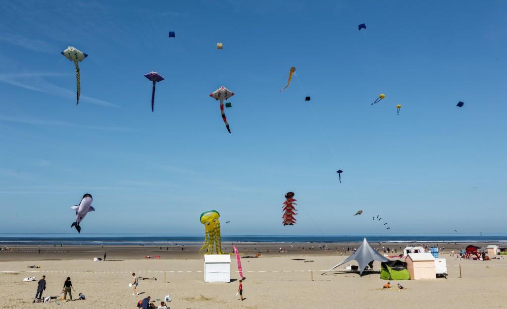 Festival cerfs volants de Berck