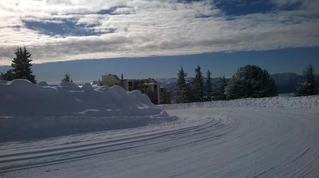 fin des nuages ce vendredi 2 mars 18 a Chamrousse