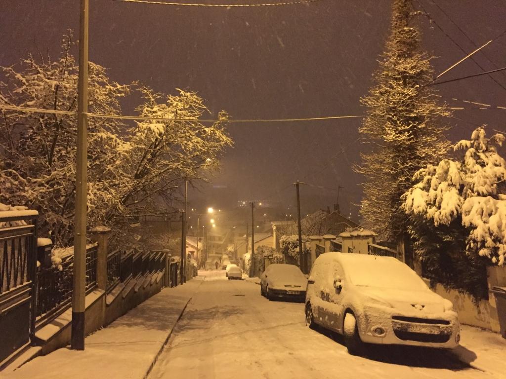Forte neige