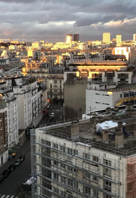Gris et or sur Paris et ses environs  Soraya Touchene