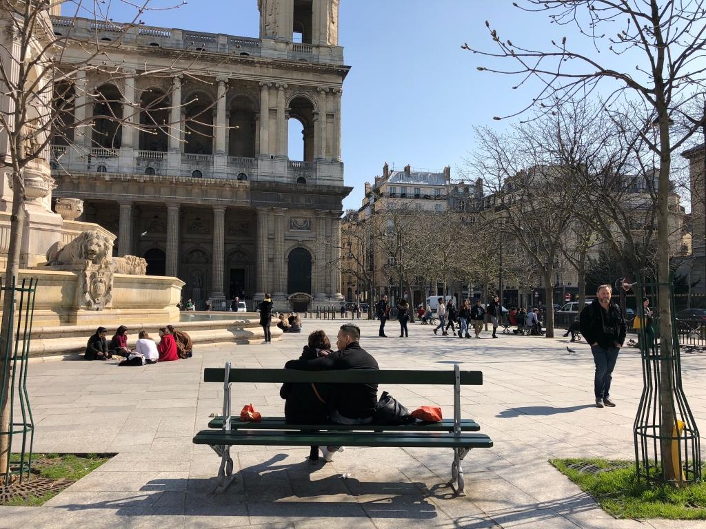 Journée plus agréable que prévu sur Paris