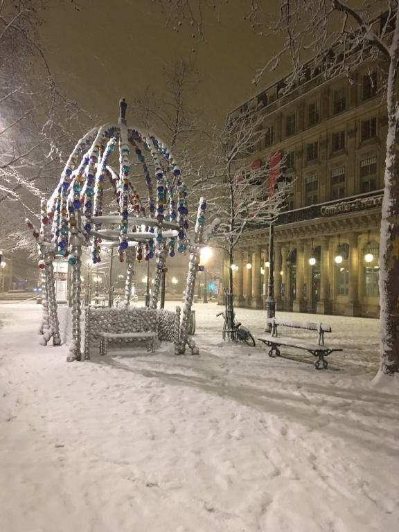 jusqu'à 10 cm dans Paris