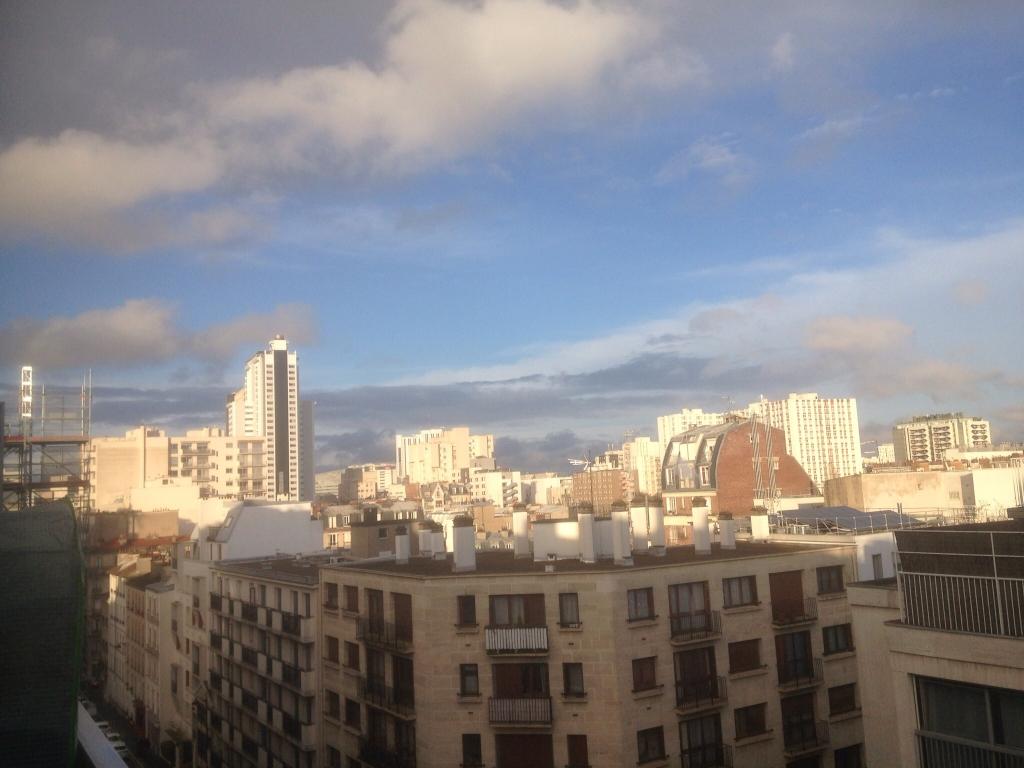 le soleil est revenu sur Paris