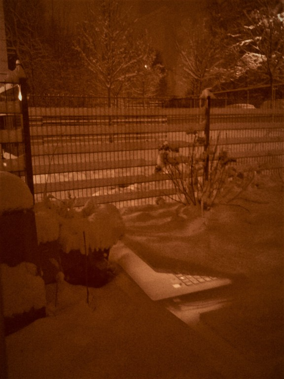 Neige à Franconville la Garenne