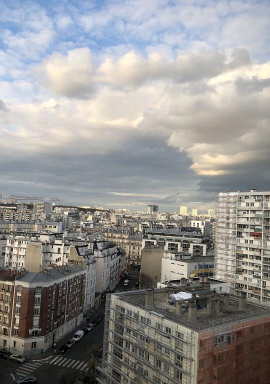 Nuages sur Montreuil Soraya Touchene
