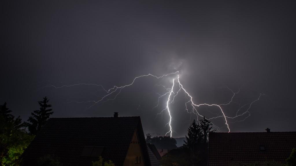 Orage sur Marlenheim