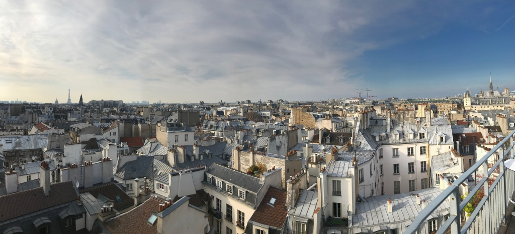 roof top Paris