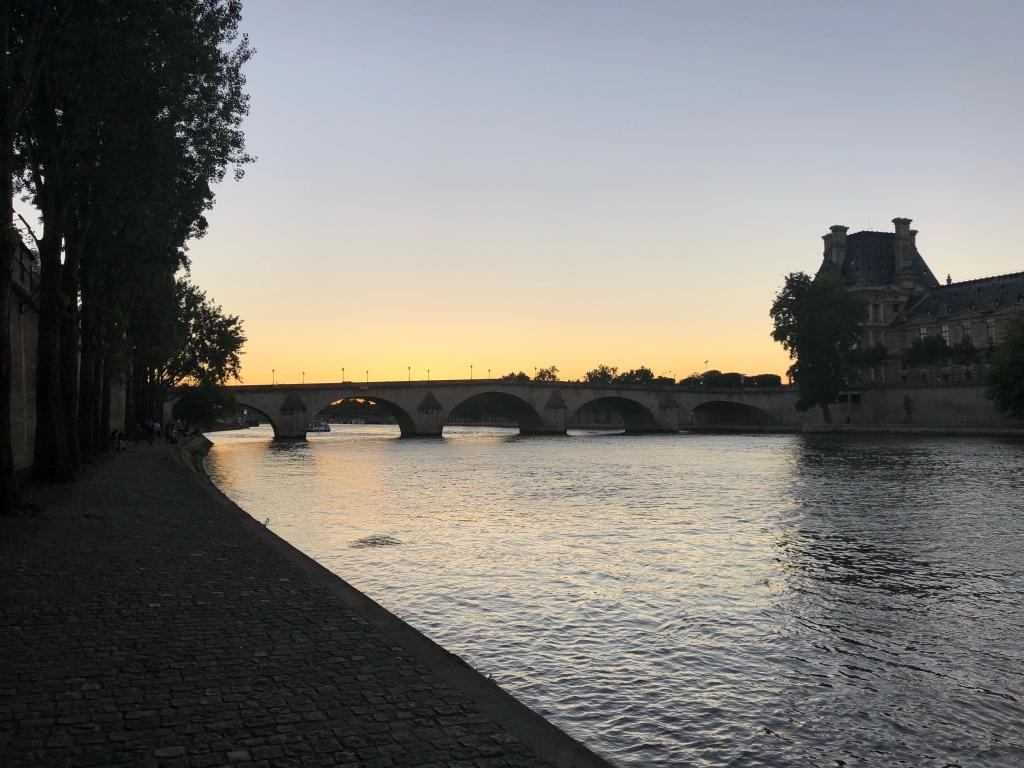 Soirée idéale sur Paris