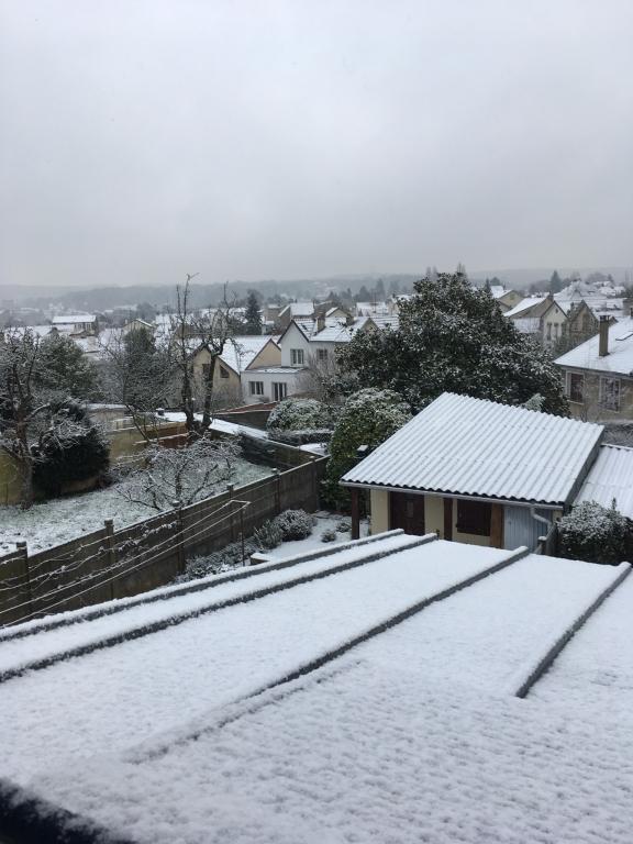 Viroflay sous la neige