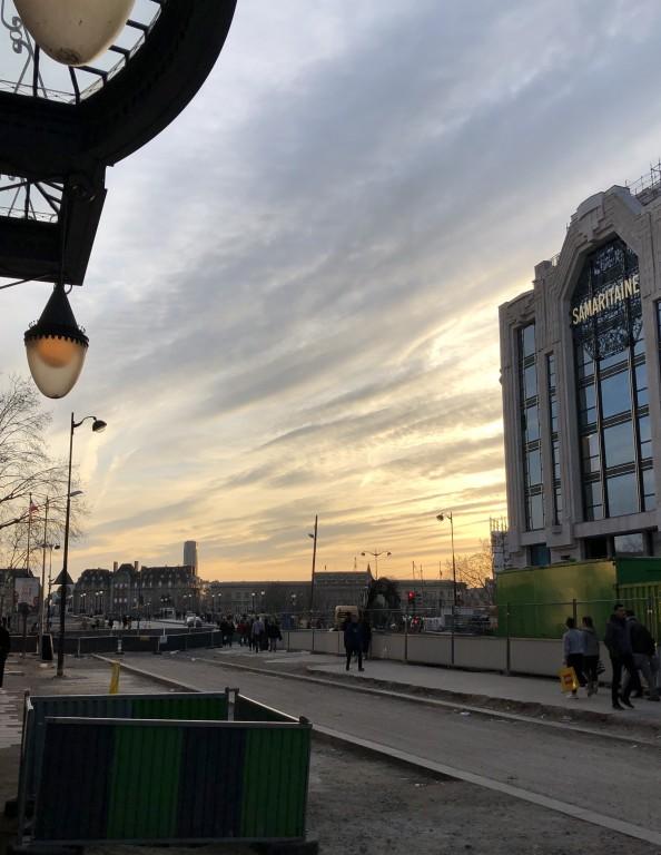 Ciel de Paris stratifié,Louis Vuitton ,La Samaritaine mais où donner de la tête ?Soraya Touchene