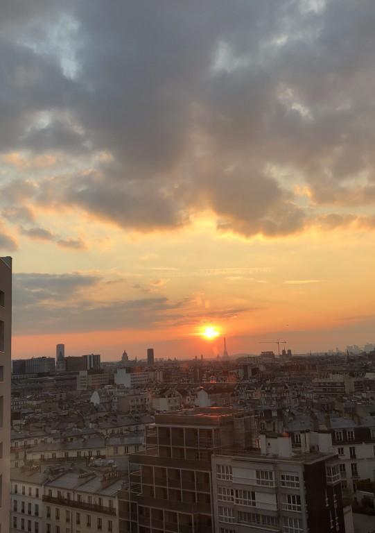 Coucher de soleil 12 sur Paris  Soraya Touchene