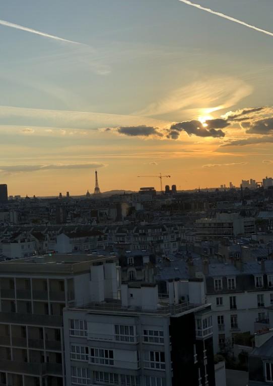 Coucher de soleil 12  sur Paris