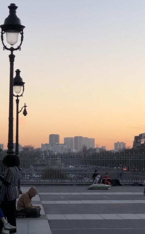 Coucher de soleil à Bastille  Soraya touchene