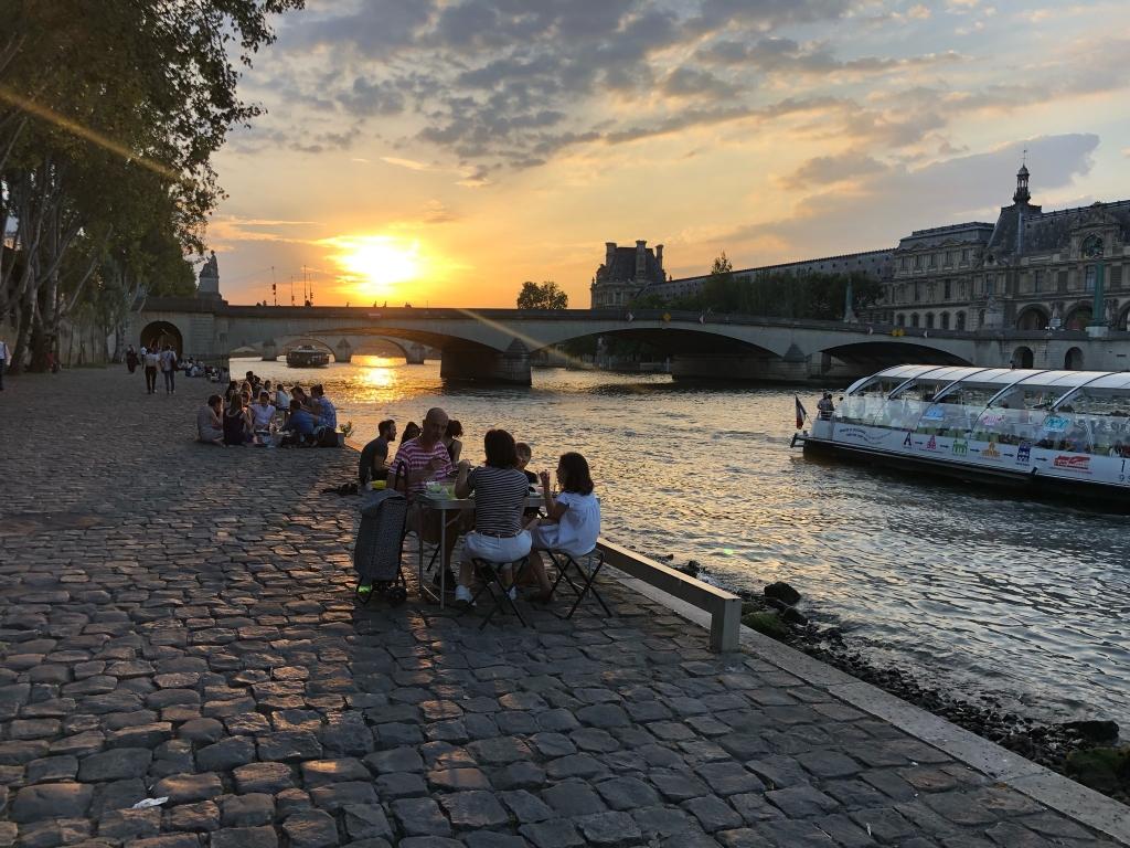 encore plus de 32° à 21h à Paris… Soirée tropicale