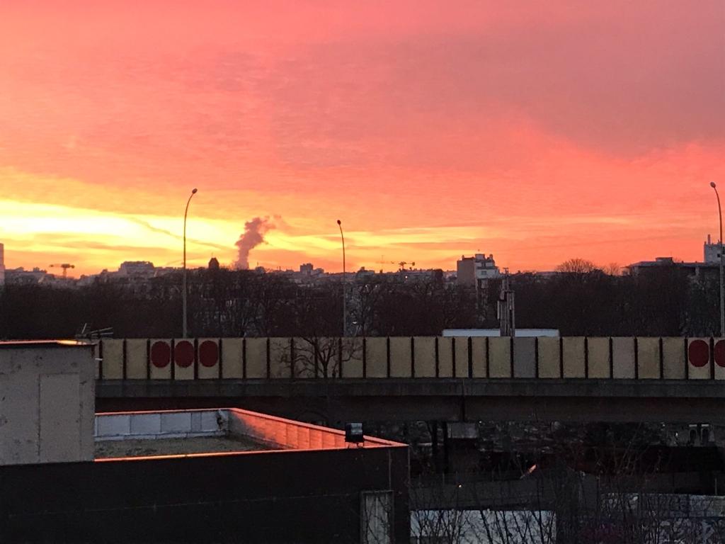 magnifique lever de soleil