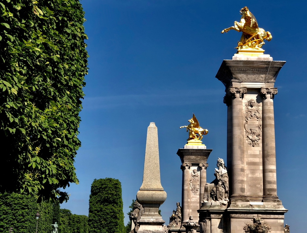 Azur parisien