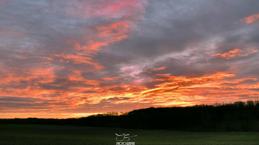 Grand lever de soleil