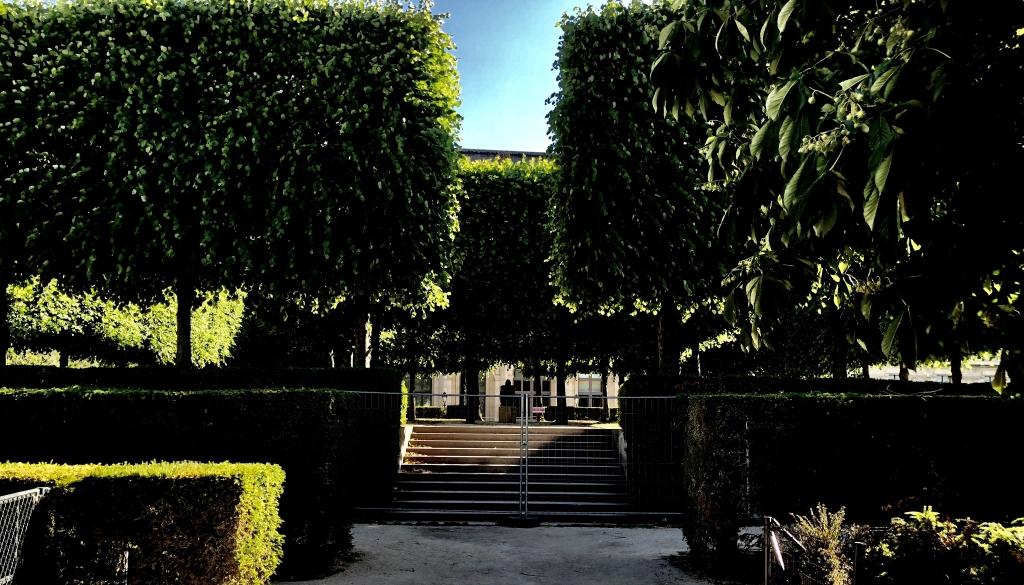 Jardins solitaires du Carrousel