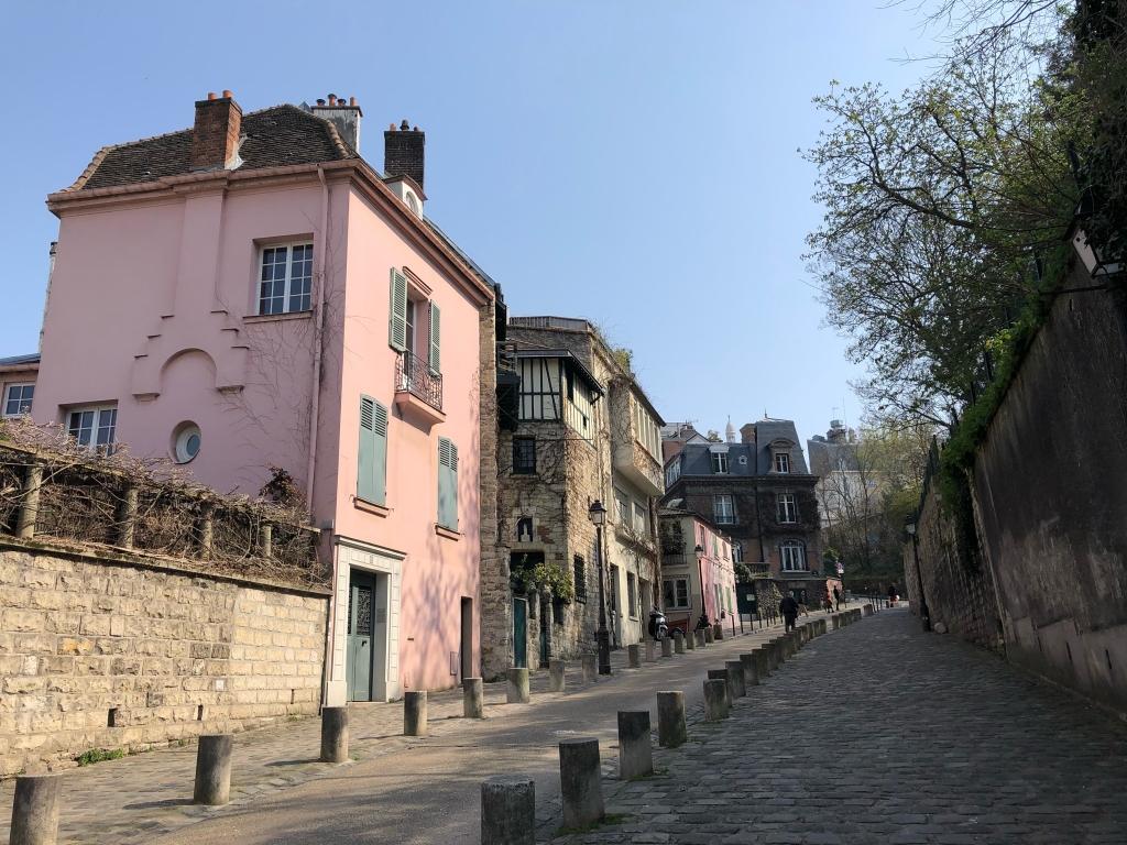 La vie en rose à Montmartre