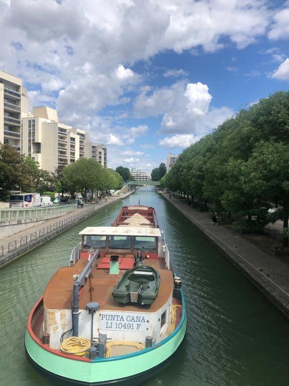 le canal de l Ourq