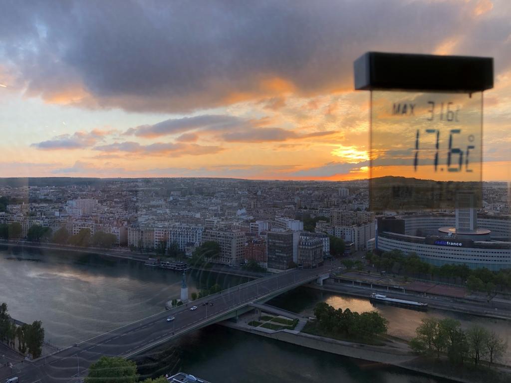 Retour du soleil ce soir sur Paris
