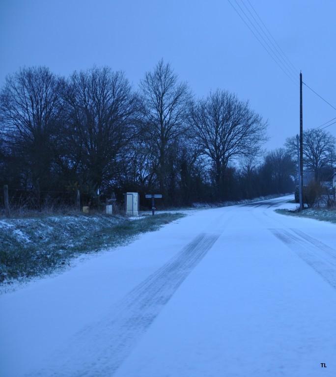 1 cm de neige