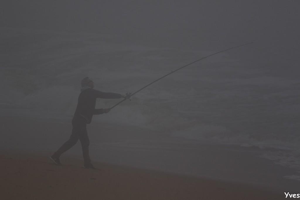 Brouillard tout au long de la journée !