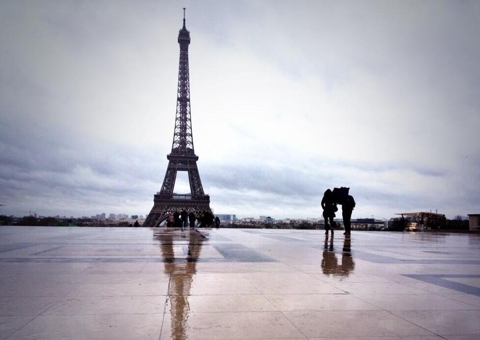 Image d'illustration pour L'Ile de France et la Picardie en limite de la tempête Dirk