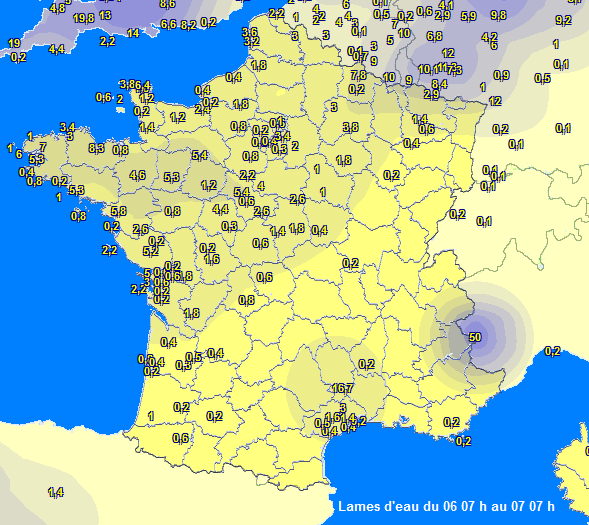 Image d'illustration pour Crues et inondations : vigilance orange levée en Bretagne