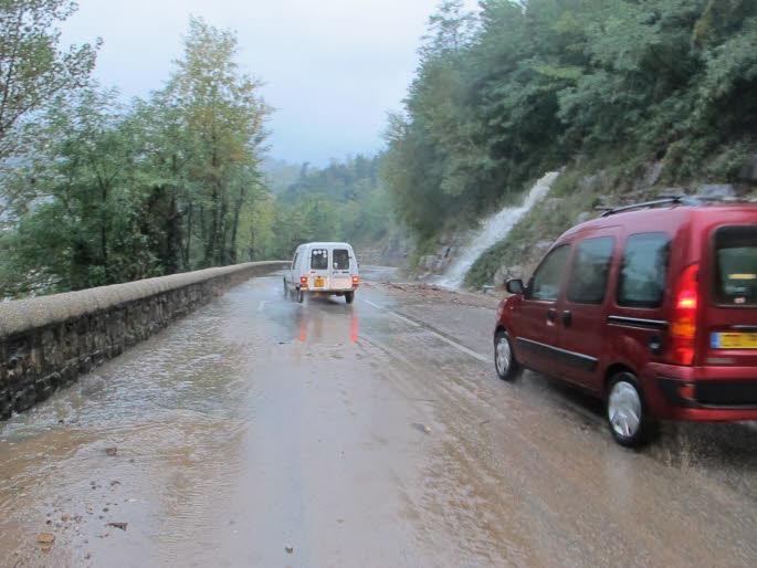 Image d'illustration pour Fortes pluies et inondations en Rhône-Alpes (Drôme - Ardèche)