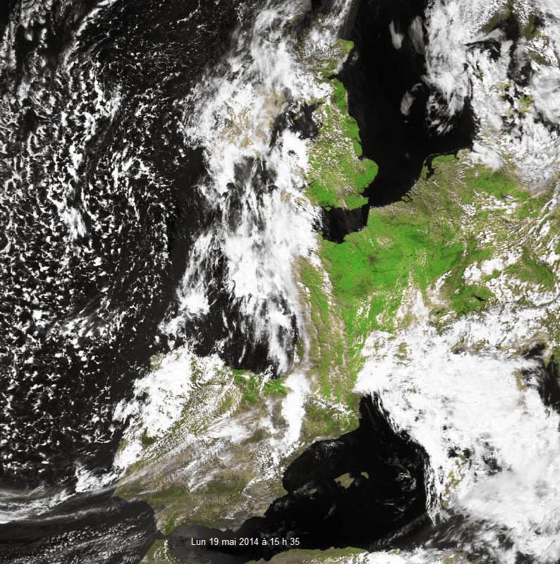 Image d'illustration pour Pluies localement abondantes près de la Méditerranée