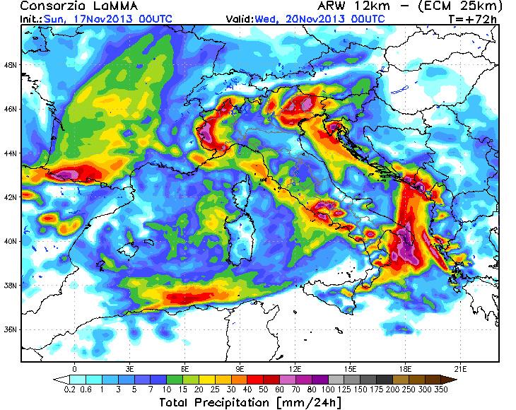 Image d'illustration pour Fortes pluies au Sud de la France (vigilance)