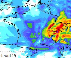 Image d'illustration pour Des pluies fréquentes voire abondantes au cours des prochains jours