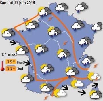 Image d'illustration pour Vers une nouvelle dégradation météo avec pluie et orage