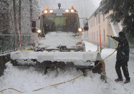 Image d'illustration pour Forte pluie et neige en Corse