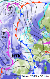 Image d'illustration pour Tempête, forte pluie, neige et orages les 24 & 25 avril