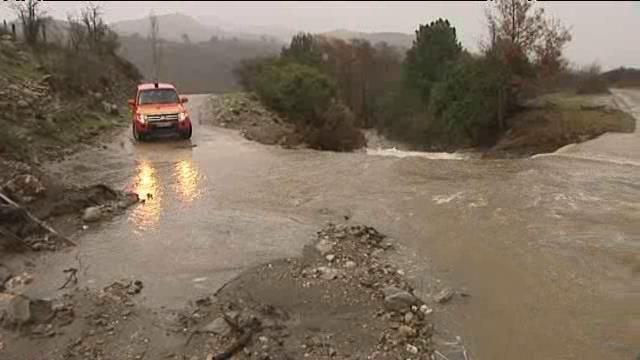 Image d'illustration pour Corse : fortes pluies, crue, neige et avalanche
