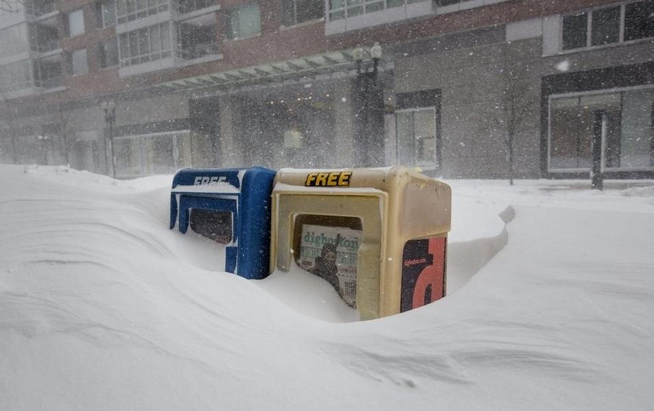 Image d'illustration pour Bilan de la tempête de neige Juno aux Etats Unis