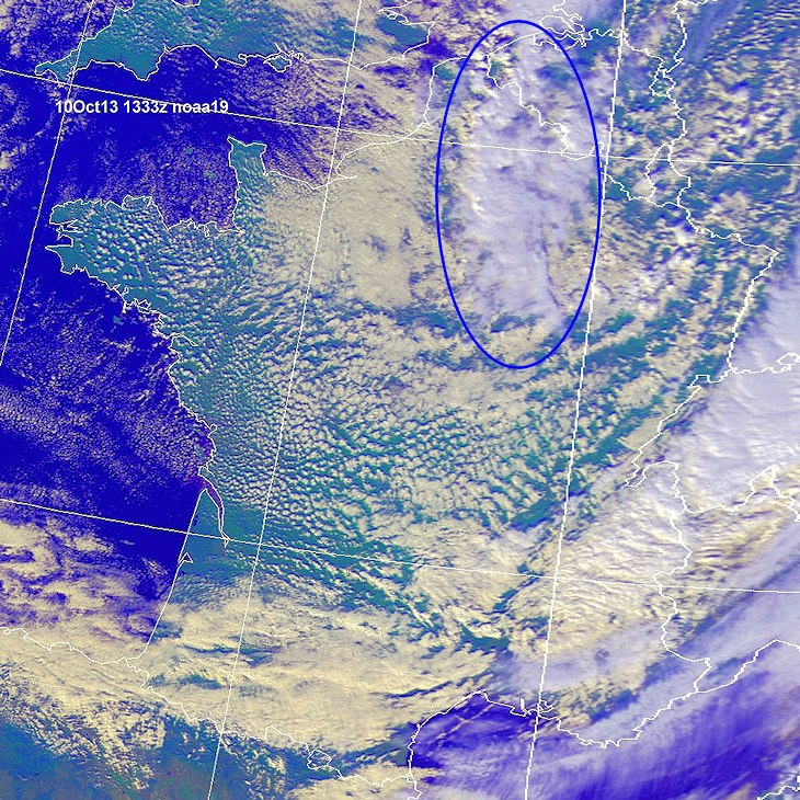 Image d'illustration pour Fortes pluies (records) sur le Nord-Pas-de-Calais et la Picardie