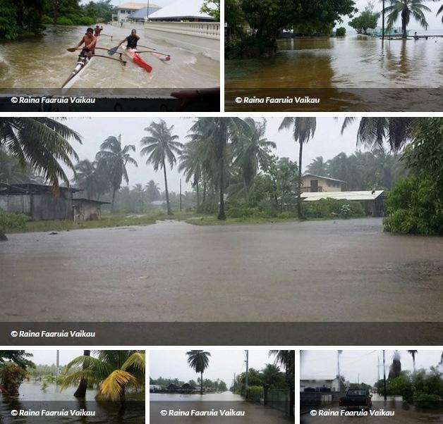 Image d'illustration pour Fortes pluies orageuses et inondations en Polynésie Française