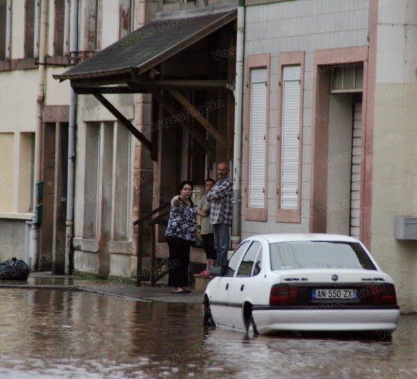 Image d'illustration pour Pluies abondantes, crues et inondations près des Vosges