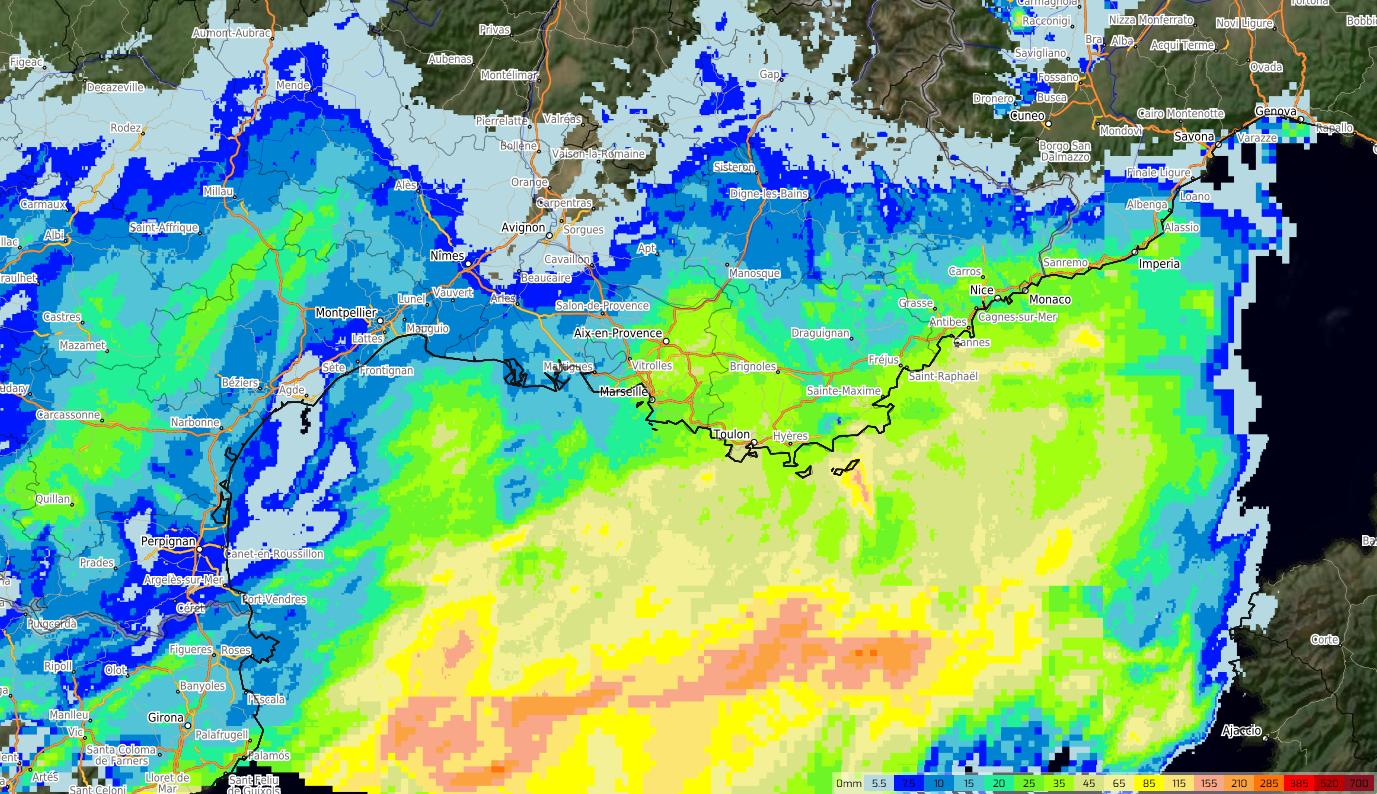 Image d'illustration pour Retour de la pluie dans les régions méditerranéennes