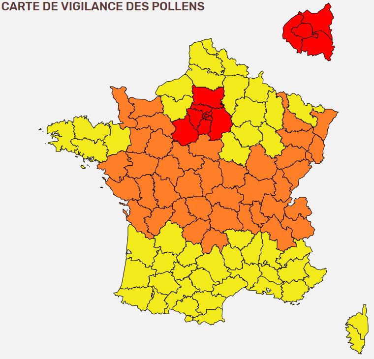 Image d'illustration pour Pollens - suivi et prévision