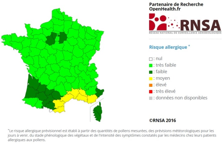 Image d'illustration pour Douceur, floraison précoce et pollens