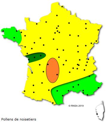 Image d'illustration pour Soleil & douceur réveillent précocément végétation & pollens