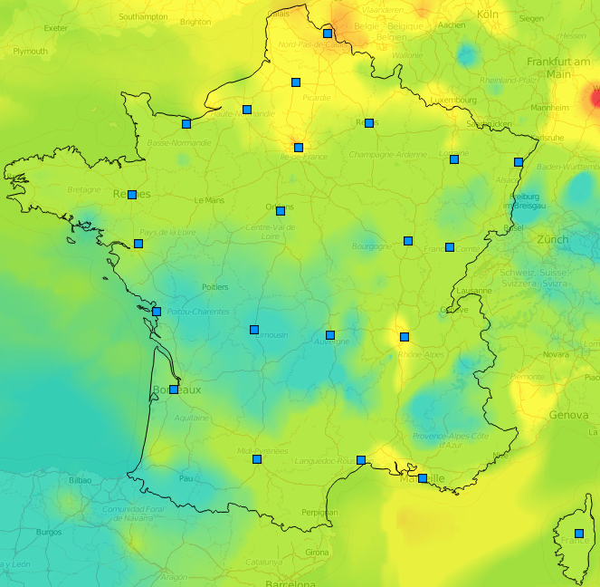 Image d'illustration pour Pic de pollution aux particules fines - Qualité de l'air dégradée